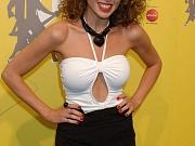 Dannii Minogue Shows Sexy Legs