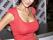 Catherine Bell showing her big tits