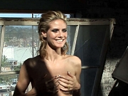 Heidi Klum exposing her nice tits