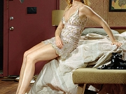 Marg Helgenberger leggy and topless