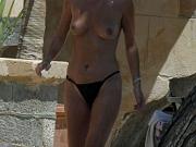 Anna Friel showing her big tits