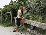Blonde wife caught in a sex trap