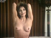 Joan Collins exposing her nice tits