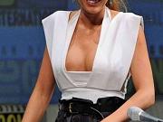 Blake Lively exposing huge cleavage