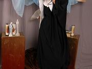 Naughty porno nun blowing a priest