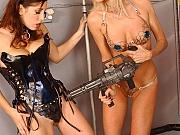 Big boob scifi lesbian porno action