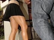Jennifer Lopez upskirt in Argentina