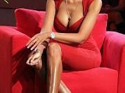 Madalina Ghenea showing big boobs