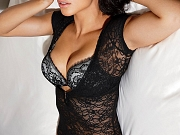 Adriana Lima busty in sexy lingerie