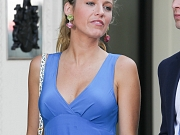 Blake Lively busty in a hot dress