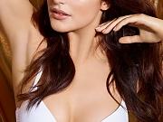 Lauren Budd busty in sexy lingerie