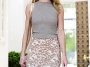 Rosie Huntington-Whiteley braless