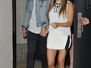Ashley Tisdale leggy in mini skirt