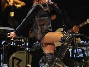 Rihanna wearing see through to bra
