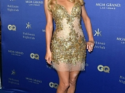Paris Hilton braless shows cleavage
