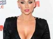 Gemma Merna braless shows off boobs