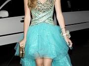 Bella Thorne leggy shows cleavage