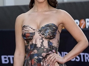 Jessica Lowndes busty in tube dress