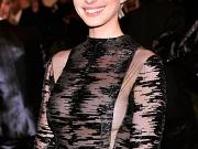 Anne Hathaway see-thru shows boobs