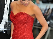 Michelle Rodriguez red hot cleavage
