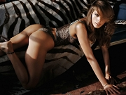 Petra Nemcova topless & c-thru PS