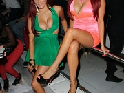 Carla Howe busting out at the party