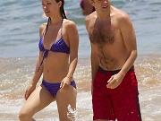 Olivia Wilde shows pokies in bikini