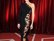 Gemma Merna pantyless in sexy dress
