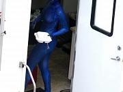 Jennifer Lawrence nude & painted