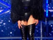 Jennifer Lopez in boots & leotard