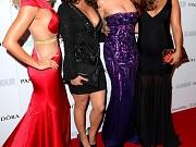 Una Healy showing huge cleavage