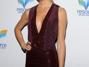 Stacy Keibler leggy shows cleavage