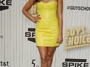 Jessica Alba busty in mini dress