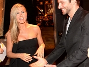 Jennifer Aniston showing cleavage