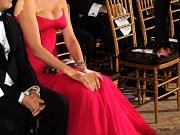 Uma Thurman showing huge cleavage