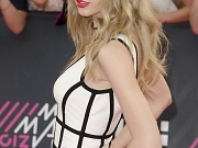 Taylor Swift booty in mini dress