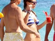 Maria Menounos busty in sexy bikini