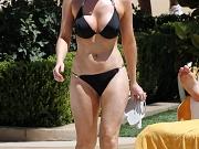 Gemma Merna showing bikini pokies