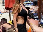 Sofia Vergara busty in a monokini