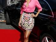 Nicole Scherzinger leggy & cleavy