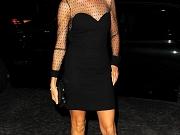 Naomi Watts leggy wearing a mini dress in London