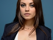 Mila Kunis looking very sexy at the photocall