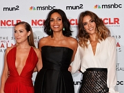 Alexa Vega showing huge cleavage at the 2013 NCLR ALMA Awards in Pasadena
