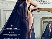 Lea Seydoux nude photoshoot by Mario Sorrenti for the premiere issue of LUI Magazine