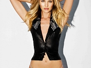 Candice Swanepoel posing in very sexy Agua Benedita swimwear photoshoot