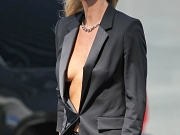 Gwyneth Paltrow braless showing huge cleavage