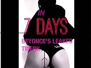 Beyonce leaked twerking video