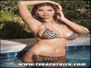 Tera Patrick at pool