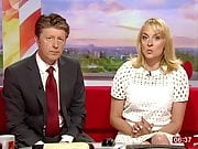 Louise Minchin Shows a Nice Expanse of Thigh