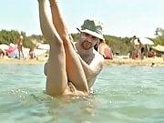 Elli Tringou Naked Scene from 'Suntan' on ScandalPlanet.Com